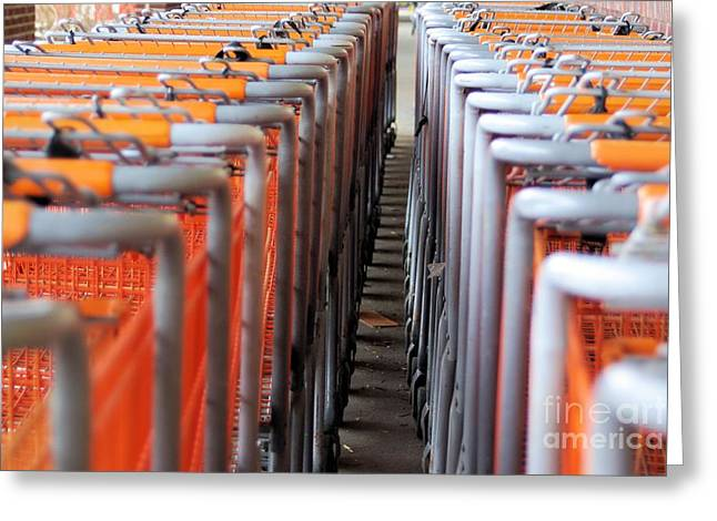 Grocery Store Greeting Cards - Attention Shoppers...LOL Greeting Card by John S