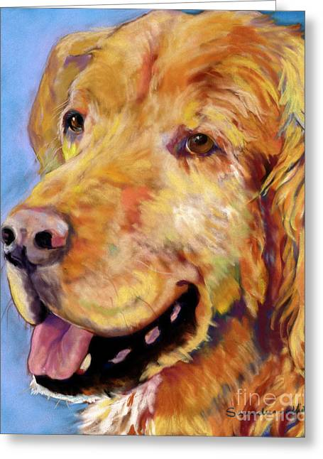 Atticus Greeting Card by Pat Saunders-White