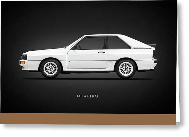 80s Greeting Cards - Audi Quattro 1985 Greeting Card by Mark Rogan