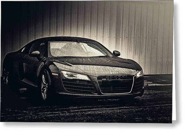 Audi R8 Greeting Card by Joel Witmeyer