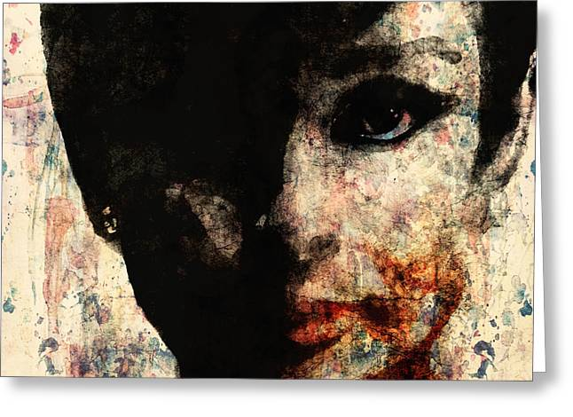 Digital Images Greeting Cards - Audrey Greeting Card by Paul Lovering
