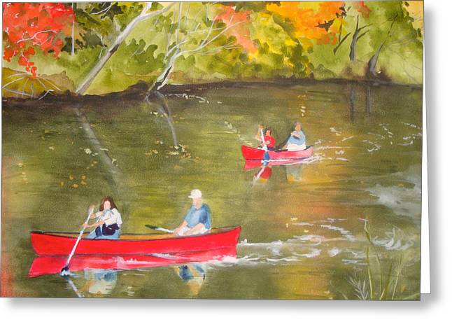 Jean Blackmer Greeting Cards - Augusta Canal Number One Greeting Card by Jean Blackmer