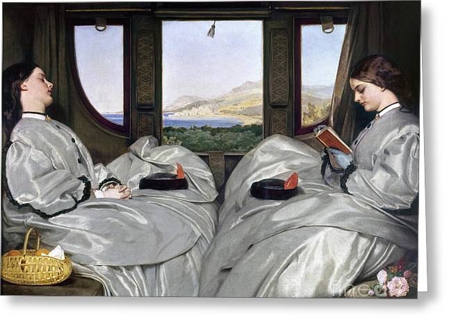 Southern Class Greeting Cards - Augustus Egg: Companions Greeting Card by Granger