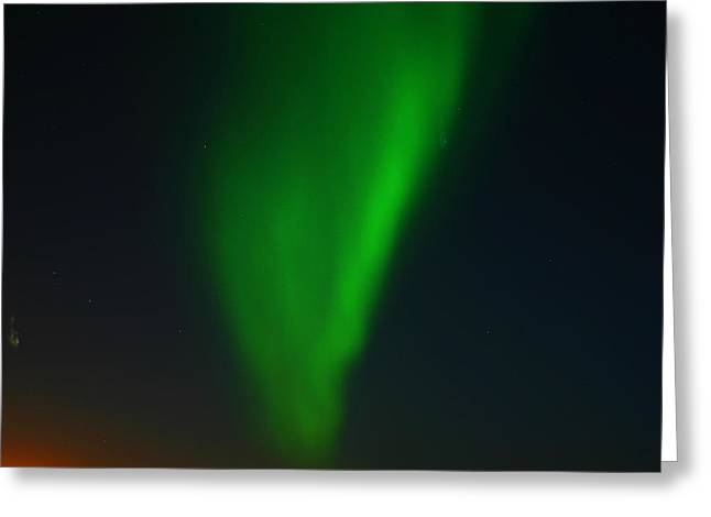 Northern Polar Lights Greeting Cards - Aurora Borealis  Greeting Card by Anthony Jones