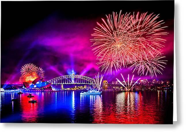 Aussie Celebrations Greeting Card by Az Jackson