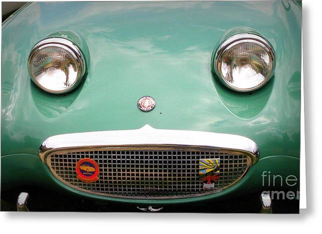 Austin Healey Sprite Greeting Card by Lainie Wrightson