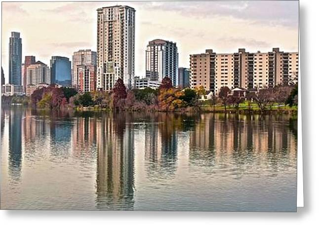 Austin Wide Shot Greeting Card by Frozen in Time Fine Art Photography