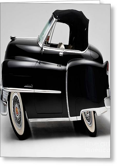 Black Car Greeting Cards - Auto Fun 02 - Cadillac Greeting Card by Variance Collections