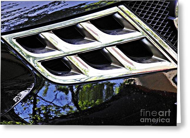 Auto Grill 16 Greeting Card by Sarah Loft