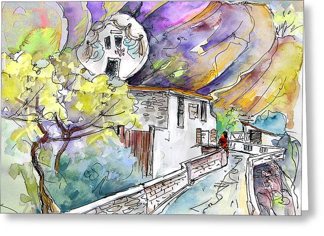 Autol In La Rioja Spain 03 Greeting Card by Miki De Goodaboom