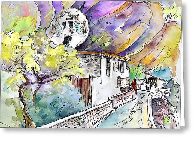 Rioja Greeting Cards - Autol in La Rioja Spain 03 Greeting Card by Miki De Goodaboom