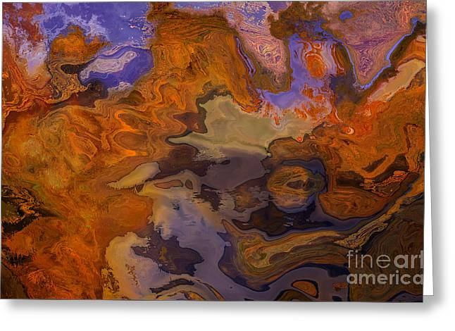 Adjectives Greeting Cards - Autumn Abstract 1 Greeting Card by Brenton Cooper