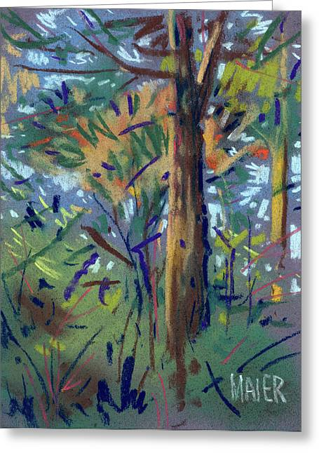 Autumn Pastels Greeting Cards - Autumn Again Greeting Card by Donald Maier