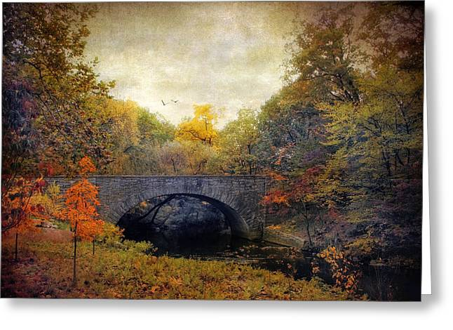 Autumn Ambiance Greeting Card by Jessica Jenney