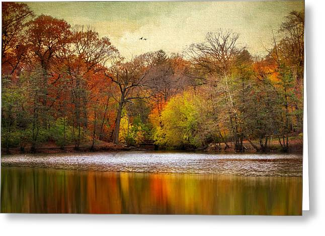 Autumn Arises 2 Greeting Card by Jessica Jenney