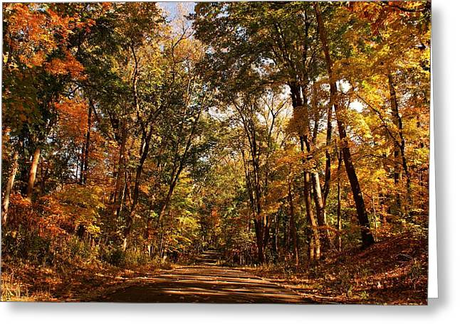 Sandy Keeton Photography Greeting Cards - Autumn at Audubon Greeting Card by Sandy Keeton