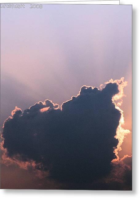 Lewisburg Greeting Cards - Autumn Cloud Greeting Card by Carolyn Postelwait