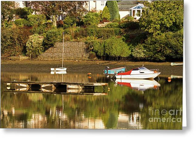 Autumn Colours Greeting Card by Terri Waters