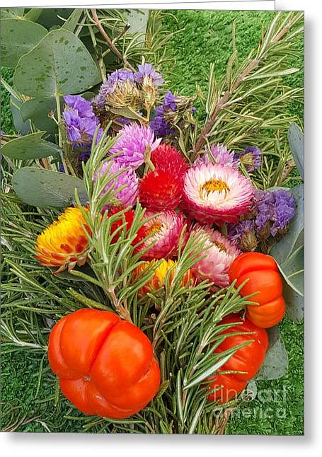 Bloosom Greeting Cards - Autumn Combination Greeting Card by Jasna Gopic
