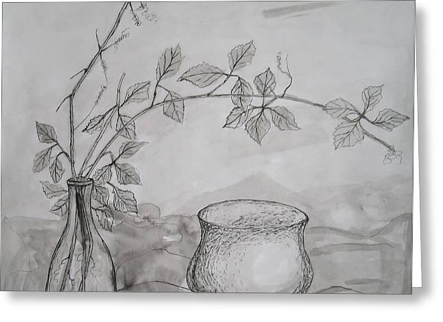 Autumn Dream Greeting Card by Georgeta  Blanaru