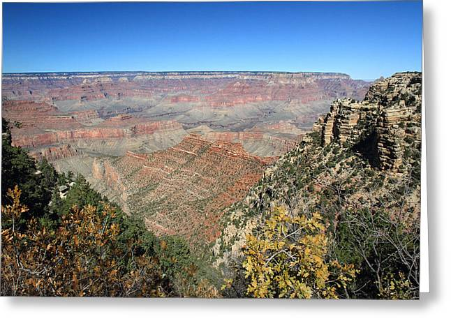 The Grand Canyon Greeting Cards - Autumn in Grand Canyon Greeting Card by Pierre Leclerc Photography