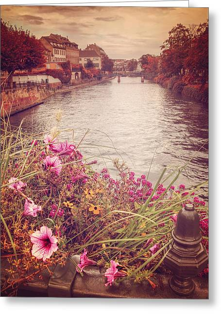 Autumn In Strasbourg  Greeting Card by Carol Japp