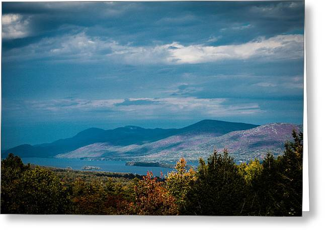 Prospects Greeting Cards - Autumn in the Adirondacks Greeting Card by Sara Frank