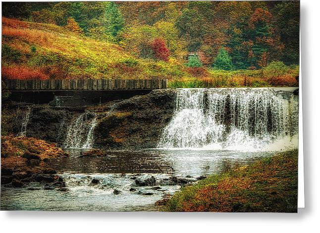 Blue Ridge Parkway In Fall Greeting Cards - Autumn in the Blue Ridge Mountains Greeting Card by Olahs Photography