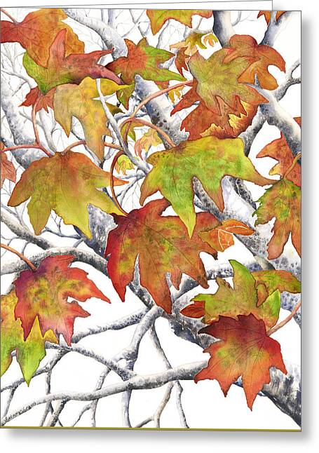 Autumn Leaves Greeting Card by Autumn Leaves