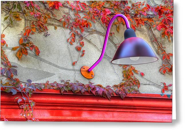 Autumn Light Greeting Card by Paul Wear
