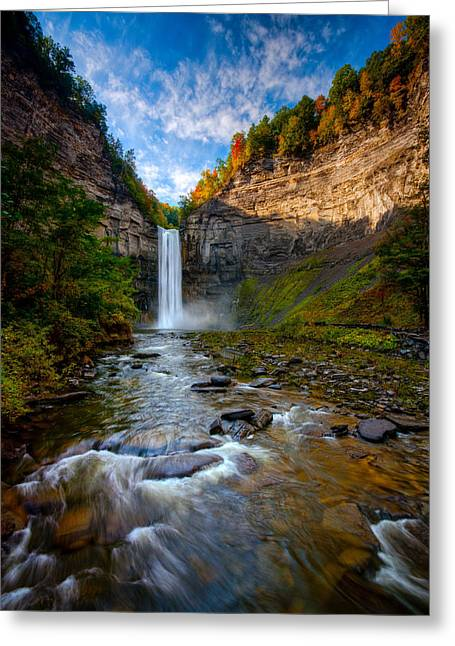 Finger Lakes Region Greeting Cards - Autumn Riches Greeting Card by Neil Shapiro