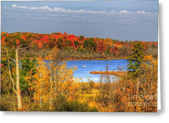 Autumn Art Greeting Cards - Autumn  Greeting Card by Robert Pearson