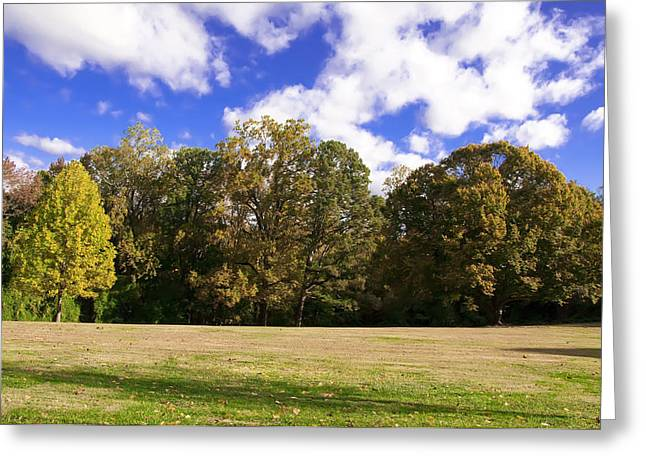Field. Cloud Digital Greeting Cards - Autumn Skies Greeting Card by Bill Cannon