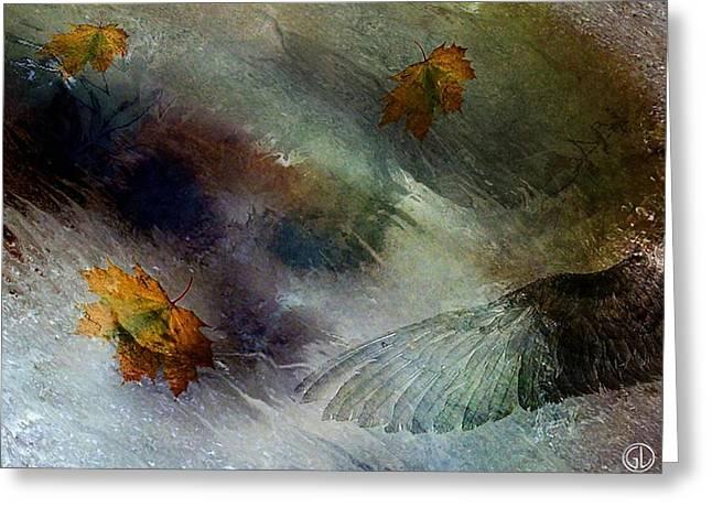 Autumn Storm Greeting Card by Gun Legler