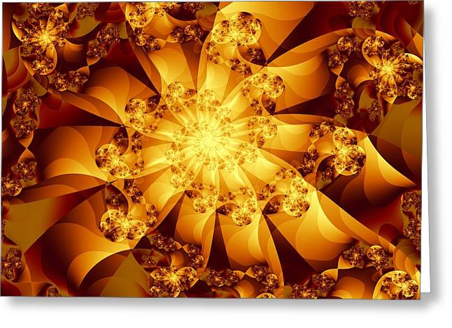 Michelle Greeting Cards - Autumn Sunshine Greeting Card by Michelle H