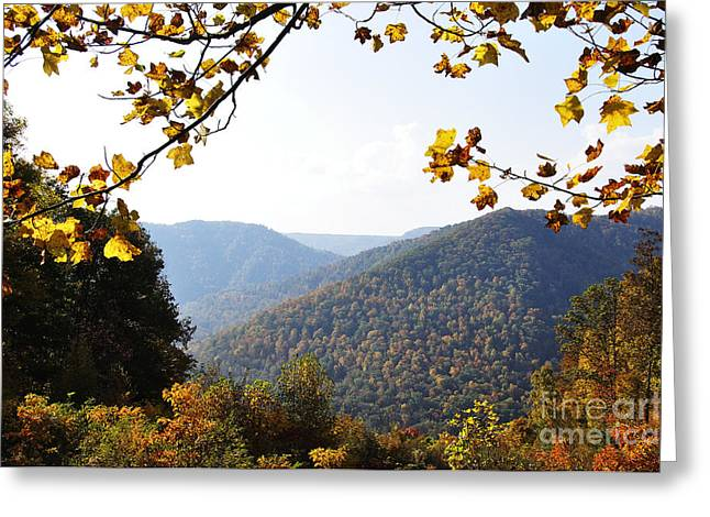 Allegheny Greeting Cards - Autumn West Virginia Mountains Greeting Card by Thomas R Fletcher