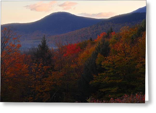 Reflections Of Sky In Water Digital Greeting Cards - Autumns Home Greeting Card by William Carroll