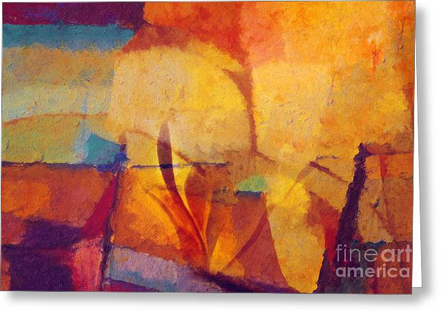 Featured Art Greeting Cards - Autunno Stagione Greeting Card by Lutz Baar