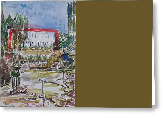 Trianon Greeting Cards - Av. Paulista - Trianon MASP No. 2 Greeting Card by James McCormack
