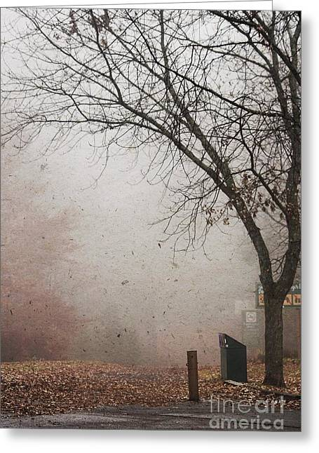 Fog Mist Greeting Cards - Avant les Flocons - 1bt1 Greeting Card by Variance Collections