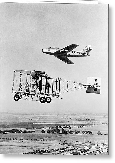 Jet Greeting Cards - Aviation Technology Greeting Card by Photo Researchers