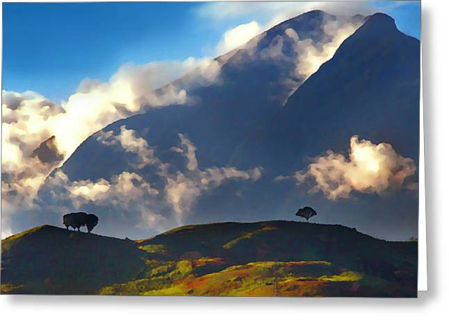 Paisaje Greeting Cards - Avila from the East Greeting Card by Bibi Romer