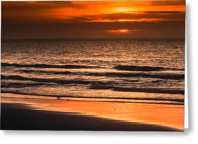 Sandy Beaches Greeting Cards - Awaken My Soul Greeting Card by Karen Wiles