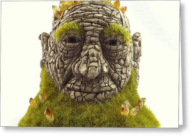 Awoken Greeting Card by Przemyslaw Stanuch