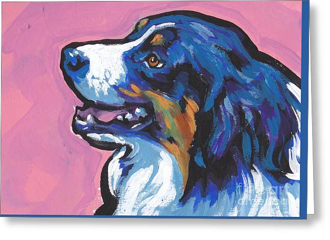 Dog Lover Art Greeting Cards - AWWW Seee Greeting Card by Lea