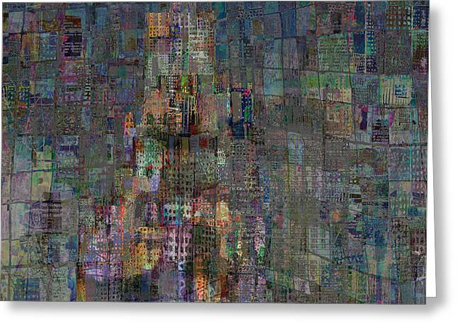 Babel Greeting Card by Andy  Mercer