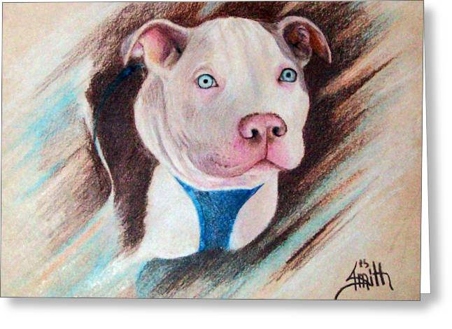 Rescue Drawings Greeting Cards - Baby Darby Greeting Card by Joey Smith