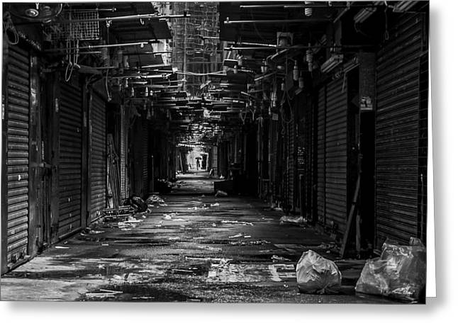 Back Alley Greeting Cards - Back Alleyways of Hong Kong Greeting Card by The Photographer