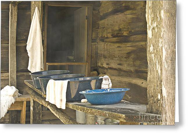 Screen Doors Greeting Cards - Back Porch Greeting Card by John Remy