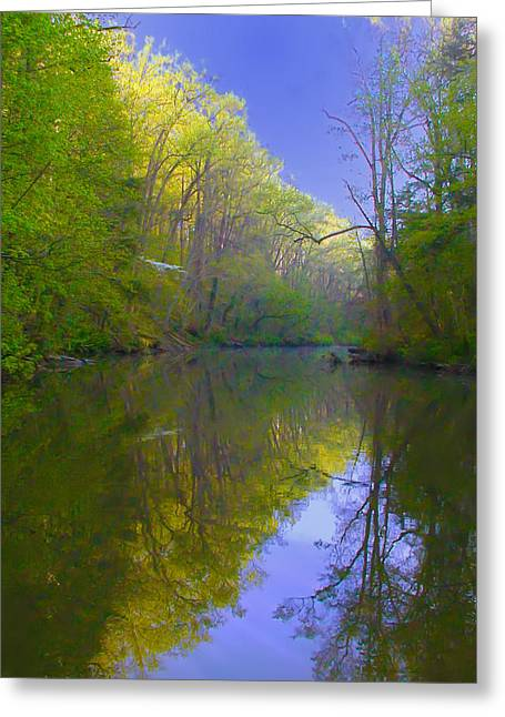 Stream Digital Greeting Cards - Back the Crick Greeting Card by Bill Cannon